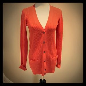 Marc Jacobs Cozy Coral Cardigan XS